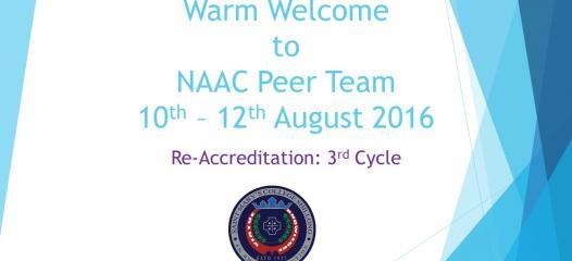 NAAC Visit